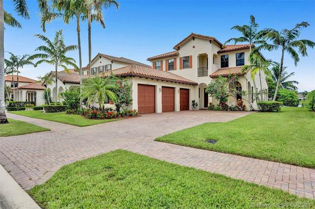 8545 NW 37th Ct, Cooper City, FL 33024 (MLS #A11095151) :: Search Broward Real Estate Team