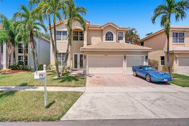 17445 SW 31st Ct, Miramar, FL 33029 (MLS #A11095247) :: Castelli Real Estate Services