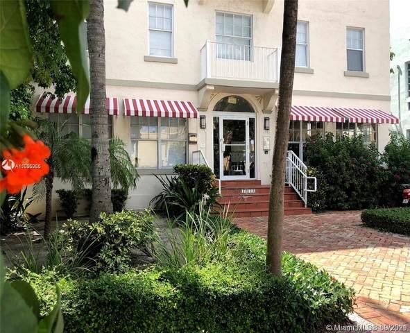 1244 Pennsylvania Ave #103, Miami Beach, FL 33139 (MLS #A11095965) :: GK Realty Group LLC