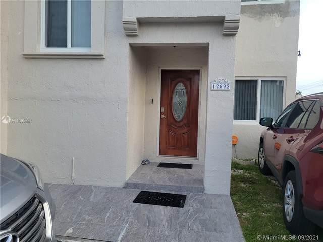 12692 NW 9th Ter, Miami, FL 33182 (#A11095994) :: Dalton Wade