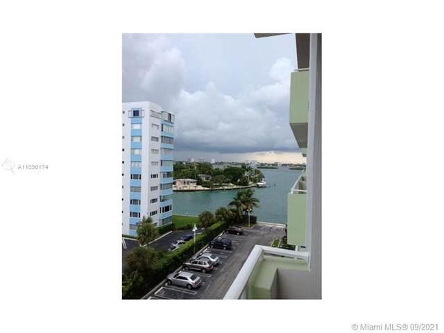 10350 W Bay Harbor Dr 6J, Bay Harbor Islands, FL 33154 (MLS #A11096174) :: Douglas Elliman