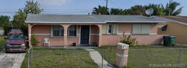 2375 NW 181st Ter, Miami Gardens, FL 33056 (MLS #A11096535) :: CENTURY 21 World Connection