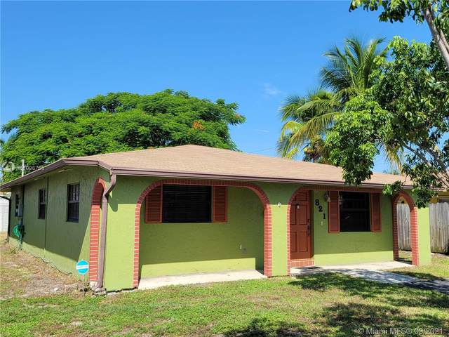 821 NE 11th Ave, Pompano Beach, FL 33060 (MLS #A11096766) :: Jo-Ann Forster Team
