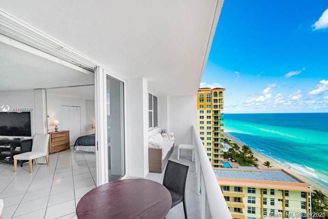 3140 S Ocean Dr #1605, Hallandale Beach, FL 33009 (MLS #A11096780) :: Douglas Elliman