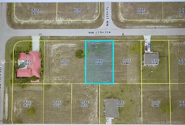 1912 NW 27 Ter, Cape Coral, FL 33993 (#A11097181) :: Posh Properties