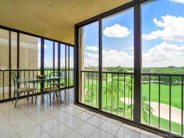 16300 Golf Club Rd #615, Weston, FL 33326 (MLS #A11097642) :: ONE | Sotheby's International Realty