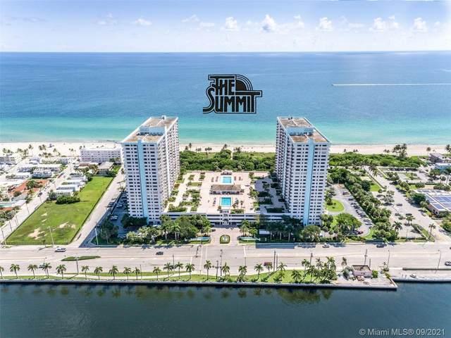 1201 S Ocean Drive 1105N, Hollywood, FL 33019 (MLS #A11097674) :: Berkshire Hathaway HomeServices EWM Realty