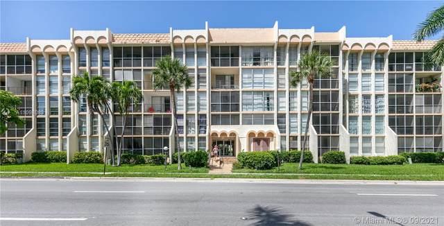 501 Three Islands Blvd #110, Hallandale Beach, FL 33009 (MLS #A11098083) :: Green Realty Properties