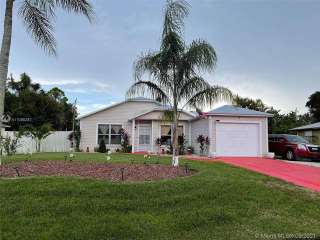 214 SW Moselle Ave, Port Saint Lucie, FL 34984 (MLS #A11098287) :: Prestige Realty Group