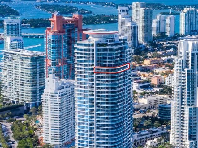 100 S Pointe Dr 3504/05, Miami Beach, FL 33139 (MLS #A11098347) :: Berkshire Hathaway HomeServices EWM Realty