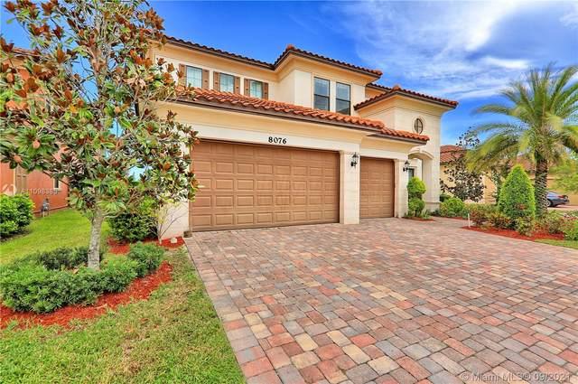 8076 NW 115th Way, Parkland, FL 33076 (MLS #A11098385) :: Re/Max PowerPro Realty