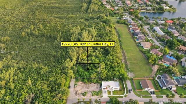 19770 SW 78th Ct, Cutler Bay, FL 33189 (MLS #A11098696) :: Douglas Elliman