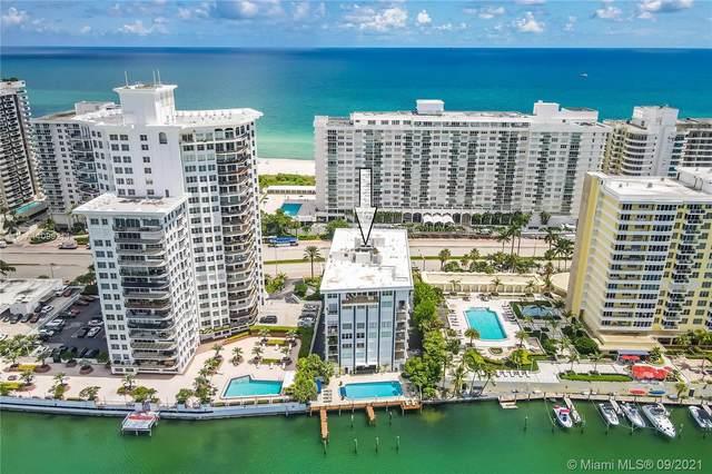 5640 Collins Ave 6A, Miami Beach, FL 33140 (#A11099211) :: Posh Properties