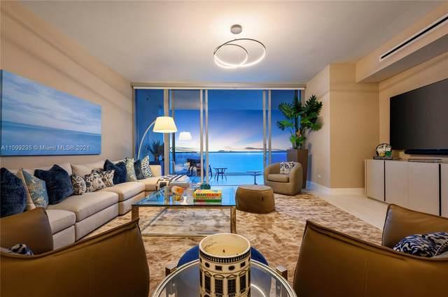 18501 Collins Ave #3403, Sunny Isles Beach, FL 33160 (MLS #A11099235) :: Jose Laya