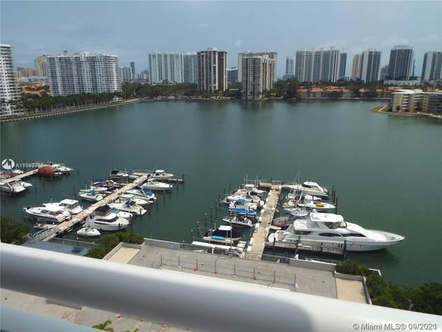18051 Biscayne Blvd #1605, Aventura, FL 33160 (MLS #A11099301) :: Green Realty Properties
