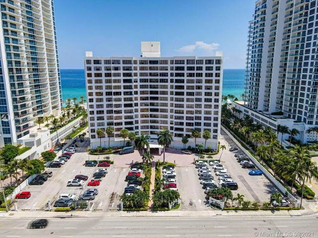 3505 S Ocean Dr #404, Hollywood, FL 33019 (MLS #A11099308) :: Berkshire Hathaway HomeServices EWM Realty