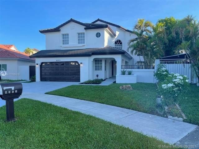 6003 SW 154th Ct, Miami, FL 33193 (MLS #A11099415) :: All Florida Home Team