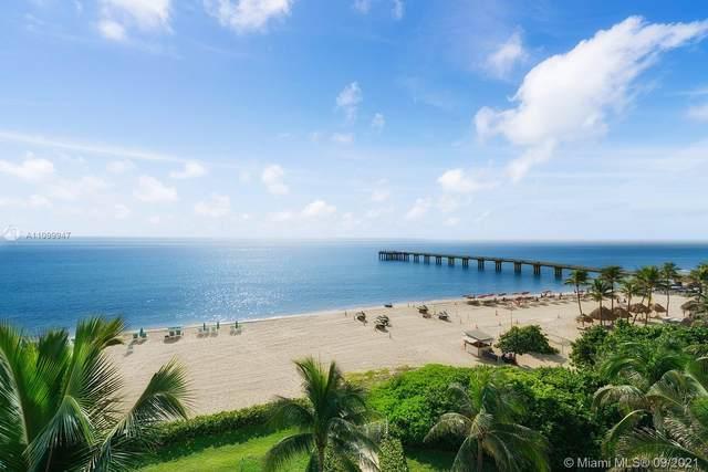 16711 Collins Ave #607, Sunny Isles Beach, FL 33160 (MLS #A11099947) :: GK Realty Group LLC