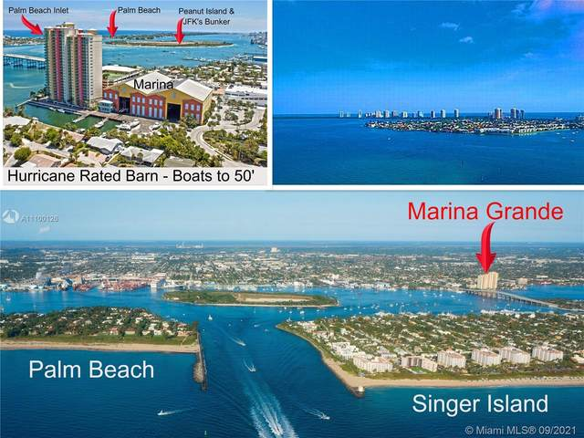 2650 Lake Shore Dr #1605, Riviera Beach, FL 33404 (#A11100126) :: Posh Properties