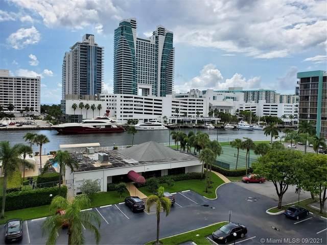 600 Parkview Dr #628, Hallandale Beach, FL 33009 (MLS #A11100390) :: Albert Garcia Team