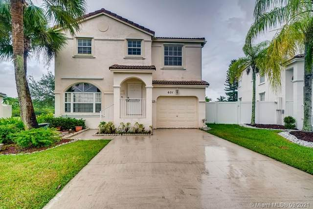 651 NW 151st Avenue, Pembroke Pines, FL 33028 (MLS #A11100563) :: The Rose Harris Group