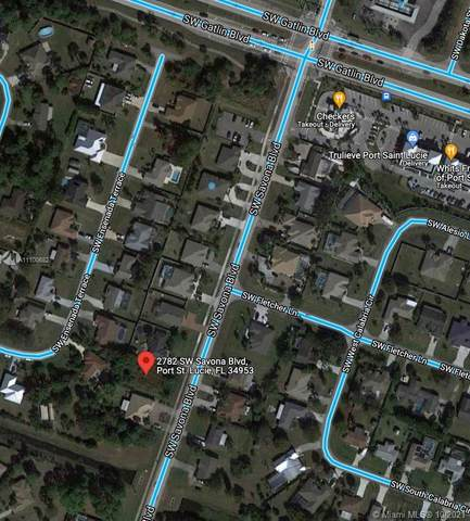 2782 SW Savona Blvd, Port Saint Lucie, FL 34953 (MLS #A11100682) :: Castelli Real Estate Services