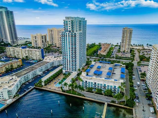 1945 S Ocean Dr #703, Hallandale Beach, FL 33009 (MLS #A11100757) :: Green Realty Properties