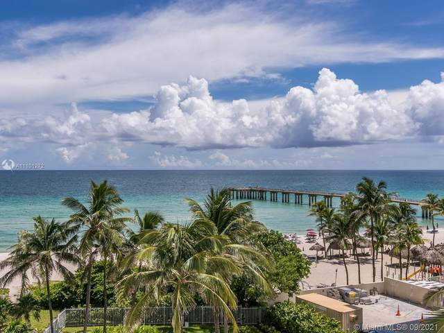 16711 Collins Ave #603, Sunny Isles Beach, FL 33160 (MLS #A11101272) :: United Realty Group