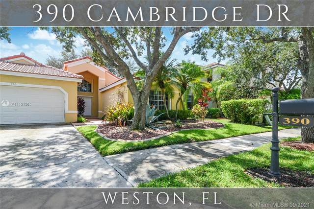390 Cambridge Dr, Weston, FL 33326 (MLS #A11101354) :: Onepath Realty - The Luis Andrew Group