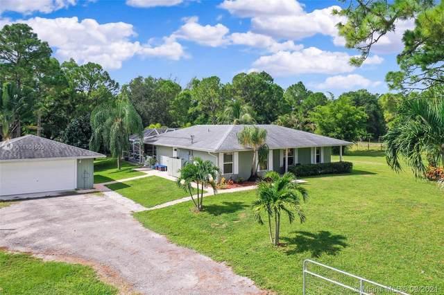 14718 N 85th Rd N, Loxahatchee, FL 33470 (MLS #A11101605) :: GK Realty Group LLC