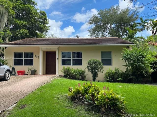815 Monterey St, Coral Gables, FL 33134 (MLS #A11101662) :: Castelli Real Estate Services