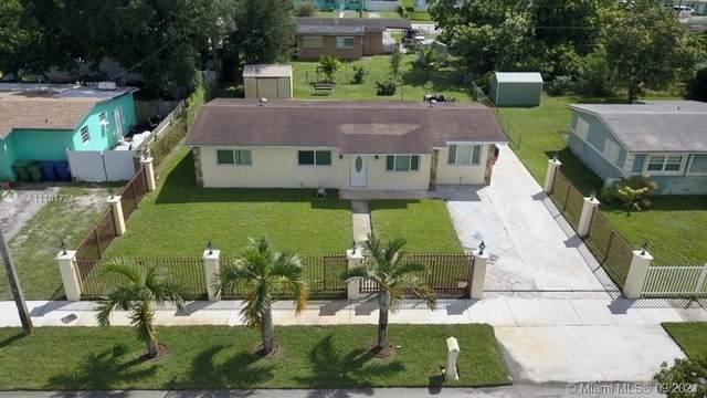 4030 NW 193rd St, Miami Gardens, FL 33055 (MLS #A11101724) :: All Florida Home Team