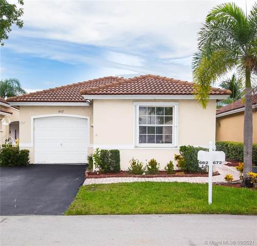 662 NW 173rd Terrace, Pembroke Pines, FL 33029 (MLS #A11101787) :: United Realty Group