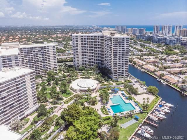 600 Three Islands Blvd #1406, Hallandale Beach, FL 33009 (MLS #A11101817) :: Castelli Real Estate Services