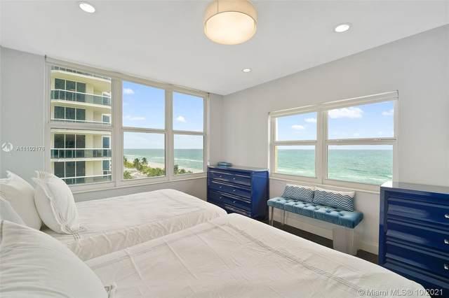 4747 Collins Ave #809, Miami Beach, FL 33140 (MLS #A11102176) :: GK Realty Group LLC