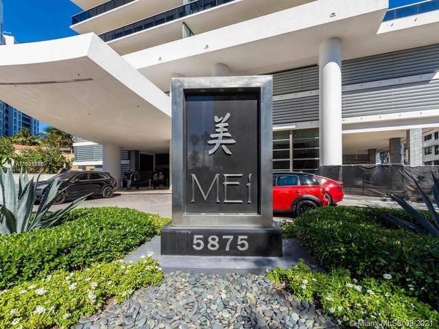 5875 Collins Ave #1602, Miami Beach, FL 33140 (MLS #A11103361) :: The MPH Team