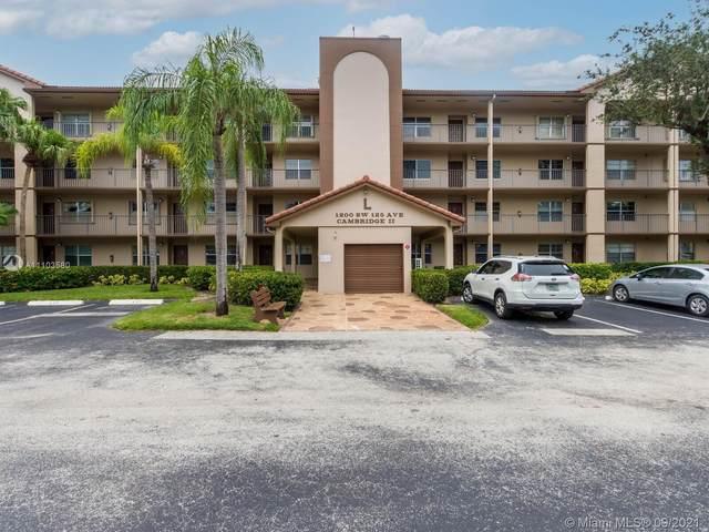1200 SW 125th Ave 306L, Pembroke Pines, FL 33027 (MLS #A11103580) :: The Teri Arbogast Team at Keller Williams Partners SW