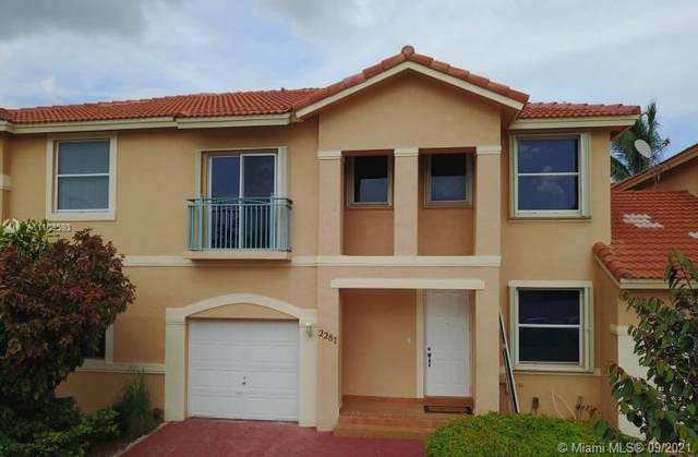 2287 NW 161st Ave, Pembroke Pines, FL 33028 (MLS #A11103593) :: The Teri Arbogast Team at Keller Williams Partners SW