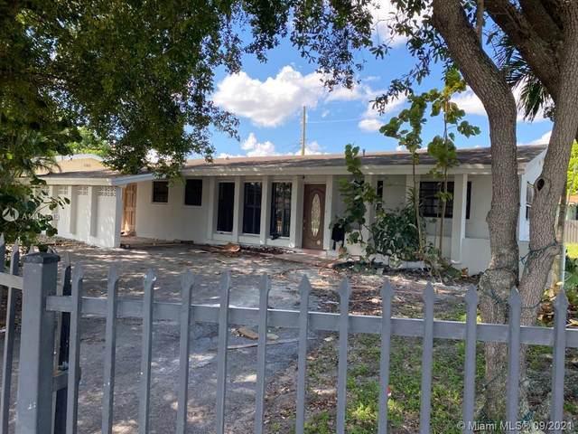 1201 NW 175th St, Miami Gardens, FL 33169 (#A11103613) :: Posh Properties