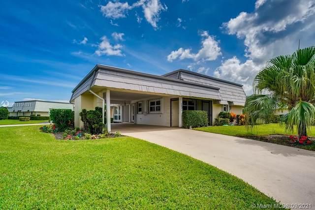 388 Villa Drive #388, Lake Worth, FL 33462 (MLS #A11104031) :: Jo-Ann Forster Team