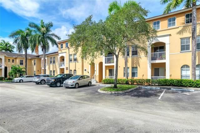 4435 SW 160th Ave #106, Miramar, FL 33027 (MLS #A11104205) :: Green Realty Properties