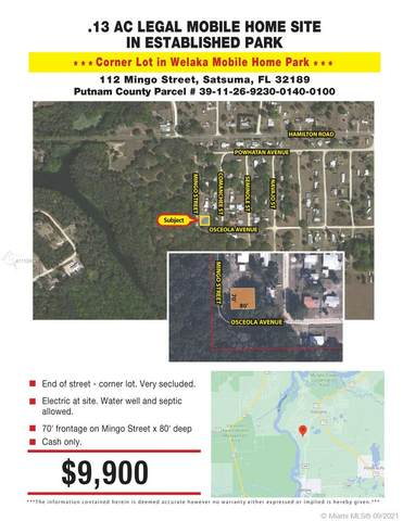 112 Mingo St, Other City - In The State Of Florida, FL 32189 (MLS #A11104501) :: Green Realty Properties