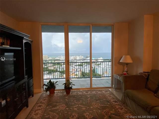 90 Alton Rd #2407, Miami Beach, FL 33139 (MLS #A11104720) :: The MPH Team