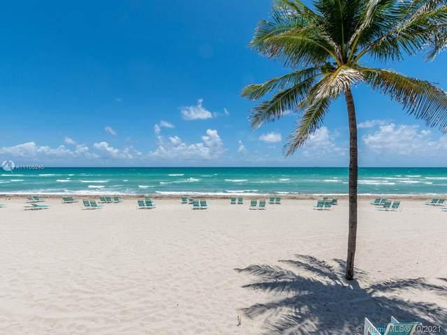 2501 S Ocean Dr #808, Hollywood, FL 33019 (MLS #A11105245) :: Green Realty Properties