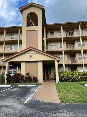 12701 SW 13th St 203F, Pembroke Pines, FL 33027 (MLS #A11105567) :: The MPH Team