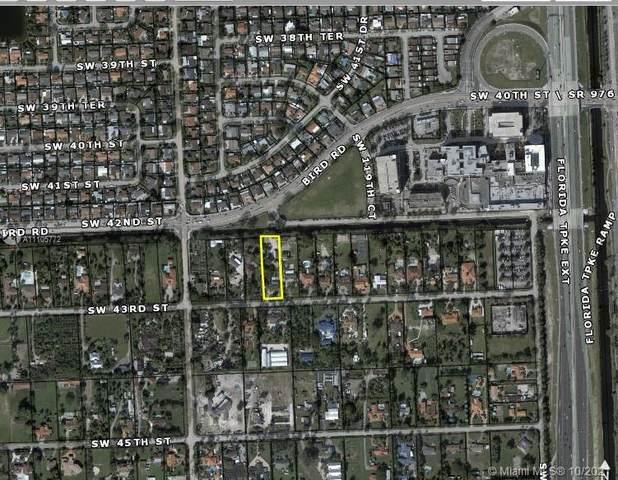 12005 SW 43th Street, Miami, FL 33173 (MLS #A11105772) :: Berkshire Hathaway HomeServices EWM Realty