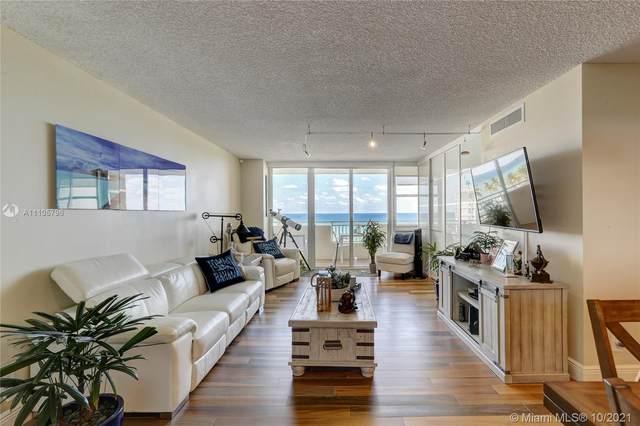 3180 S Ocean Dr #504, Hallandale Beach, FL 33009 (MLS #A11105796) :: Berkshire Hathaway HomeServices EWM Realty