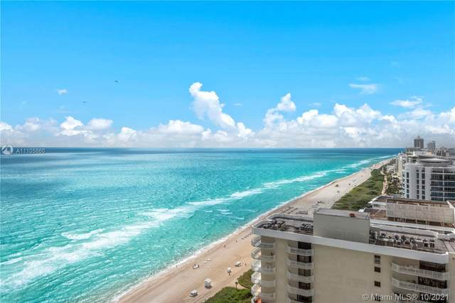 6301 Collins Ave #3003, Miami Beach, FL 33141 (MLS #A11105860) :: Berkshire Hathaway HomeServices EWM Realty
