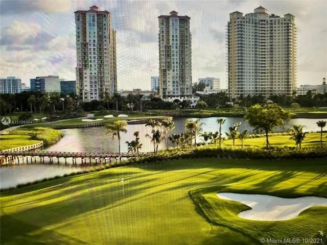19501 W Country Club Dr #513, Aventura, FL 33180 (MLS #A11106004) :: Berkshire Hathaway HomeServices EWM Realty