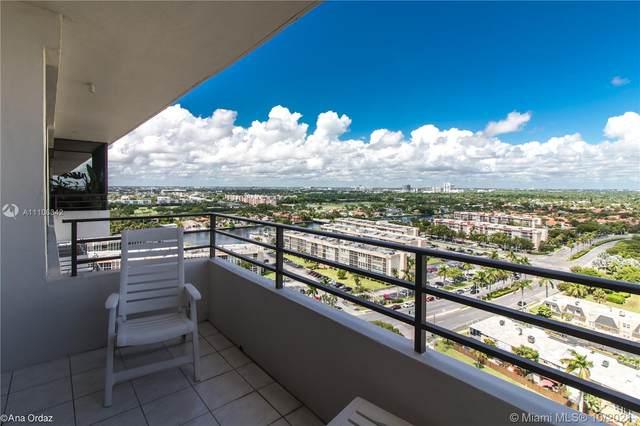 600 Three Islands Blvd #1801, Hallandale Beach, FL 33009 (MLS #A11106342) :: Green Realty Properties